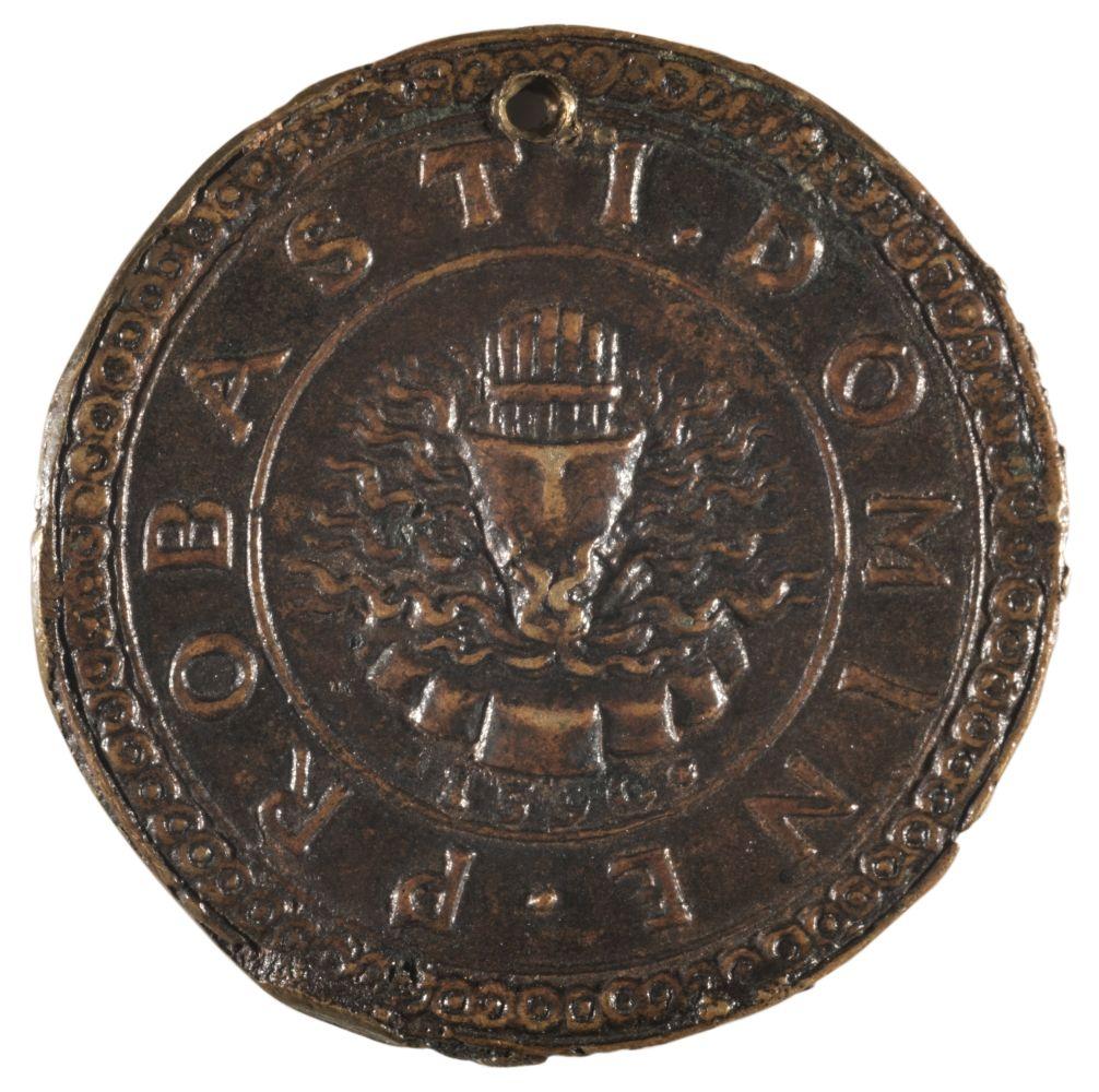 * Medal. Vincenzo I Gonzaga (1562-1612). Cast bronze medal, fine old casting - Image 2 of 2