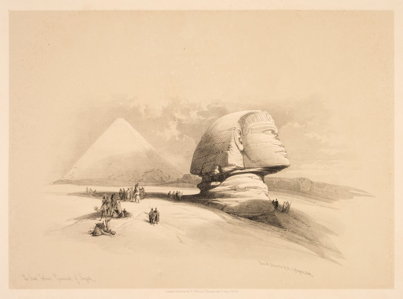 * Roberts (David). Sketches in Egypt & Nubia parts I - 8, 1847