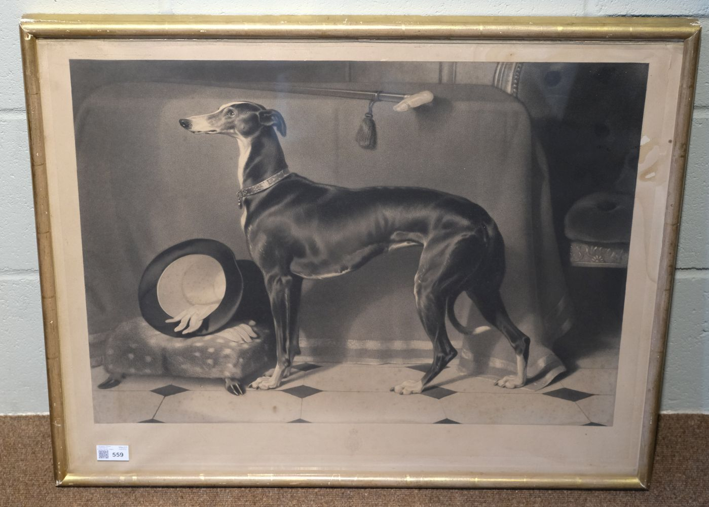 * Landseer (Thomas). Eos. A Favourite Greyhound, The Property of H. R. H. Prince Albert, 1843 - Image 2 of 5