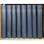 Grose (Francis). The Antiquities of England and Wales, 8 volumes circa 1785