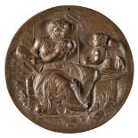 * Uniface Medal. Germany, possibly 17th century