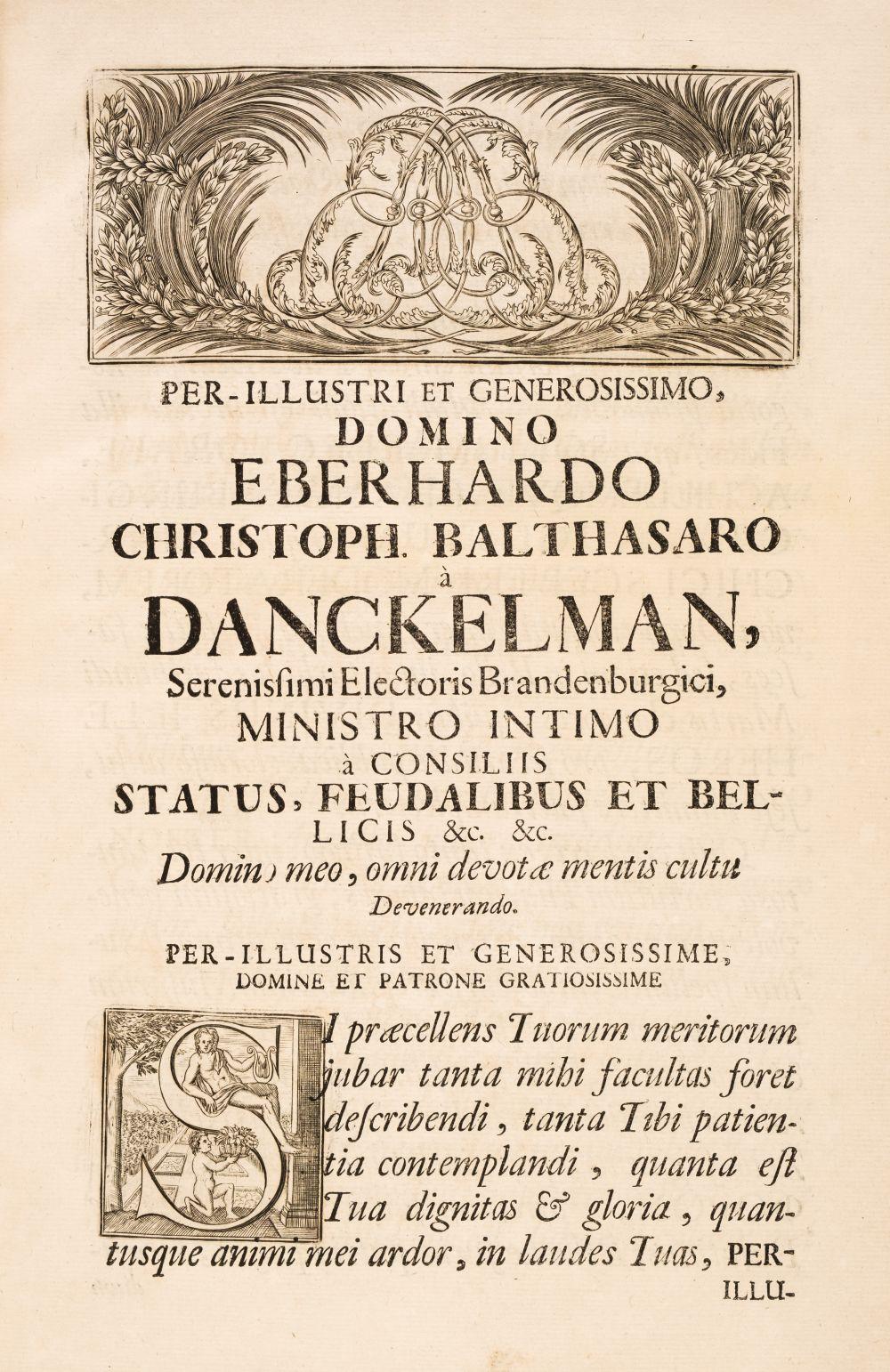 Beger (Lorenz). Spicilegium Antiquitatis..., [Berlin], 1692.