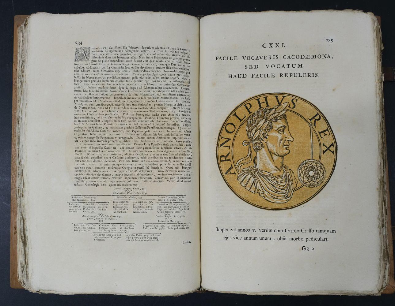 Goltzius (Hubert). Icones Imperatorum Romanorum, 1708 - Image 11 of 13