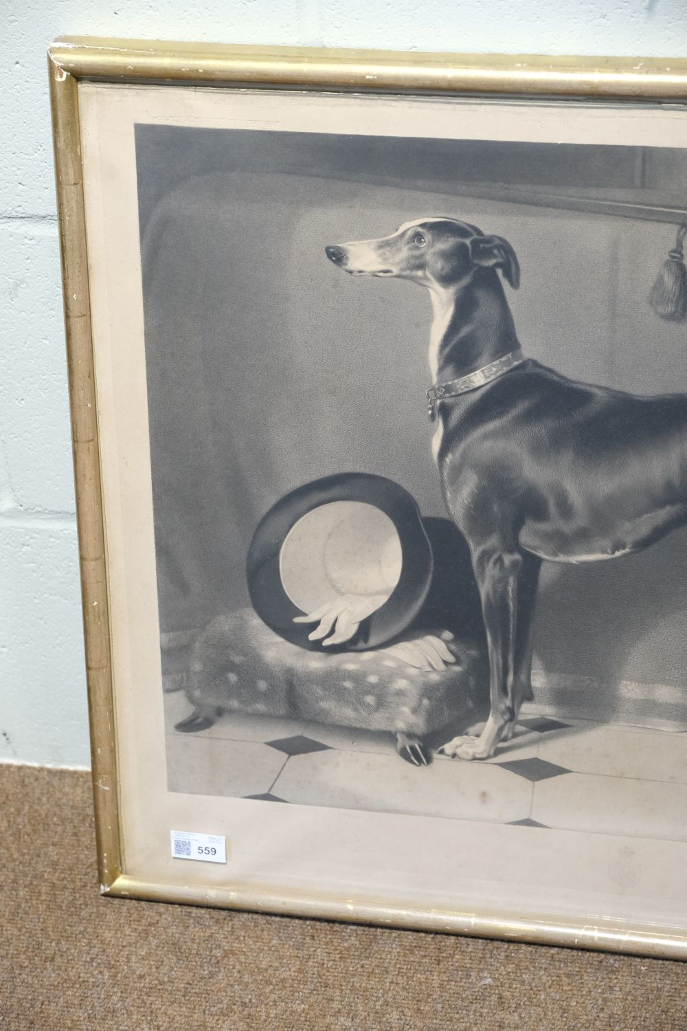 * Landseer (Thomas). Eos. A Favourite Greyhound, The Property of H. R. H. Prince Albert, 1843 - Image 3 of 5