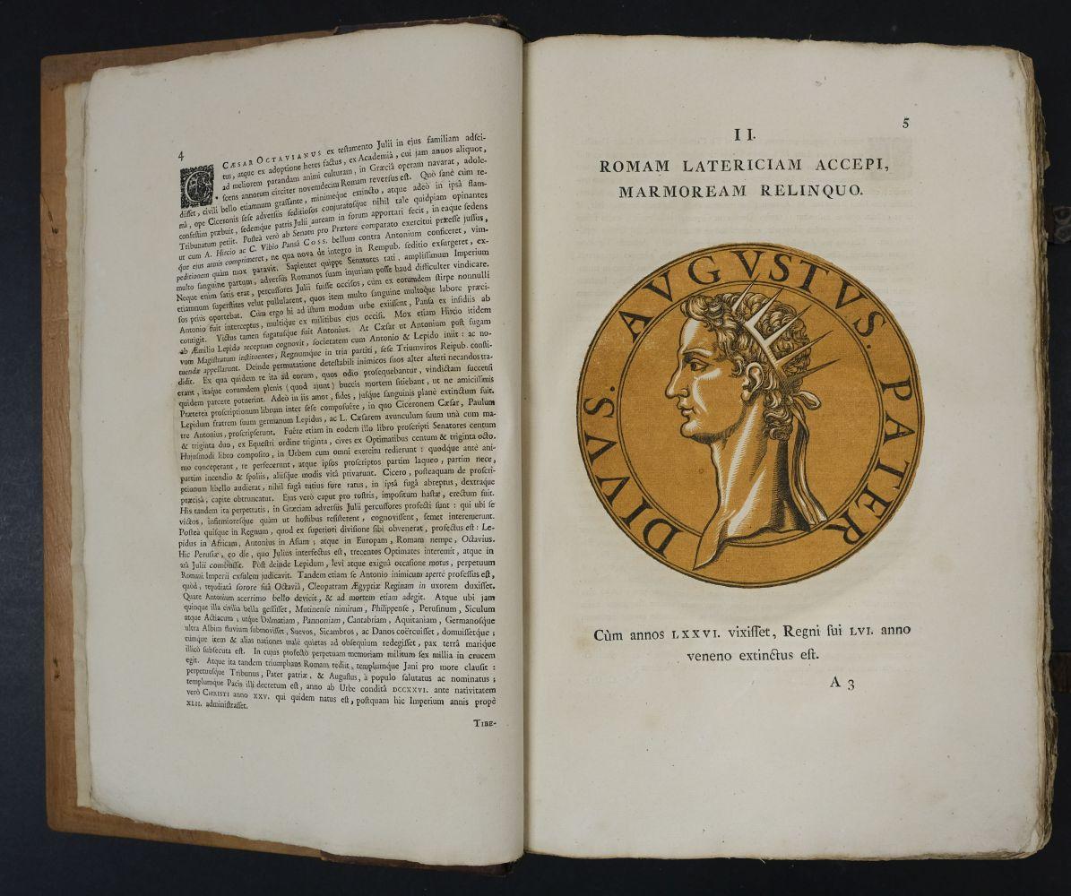 Goltzius (Hubert). Icones Imperatorum Romanorum, 1708 - Image 8 of 13