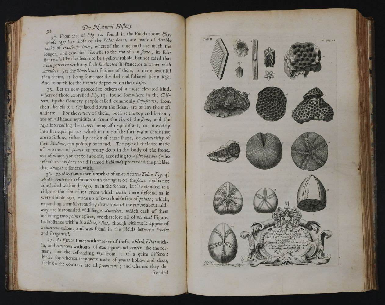 Plot (Robert). The Natural History of Oxfordshire, 1677 - Image 7 of 11