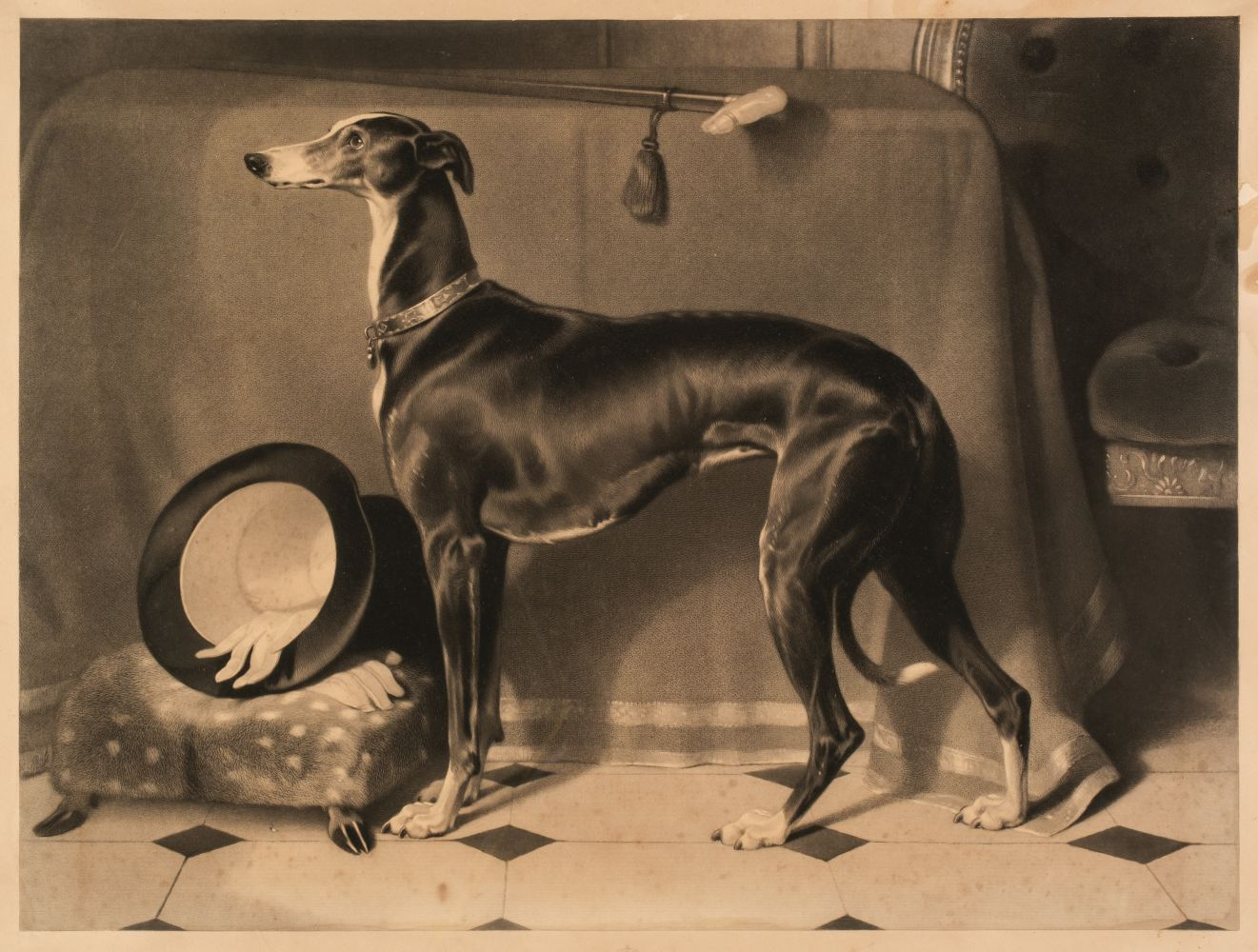 * Landseer (Thomas). Eos. A Favourite Greyhound, The Property of H. R. H. Prince Albert, 1843