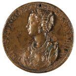 * Medal. Ippolita Gonzaga, Bronze Medal by Leone Leoni, 16th century