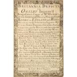 Owen (J. & Bowen E.). Britannia Depicta or Ogilby Improv'd..., 1720