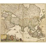 China & Asia. A mixed collection of approximately 40 maps, mostly 18th & 19th century