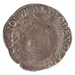 * Coin. Great Britain. Commonwealth Shilling, 1653