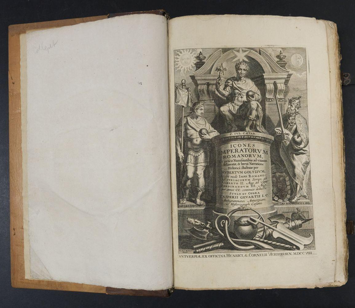 Goltzius (Hubert). Icones Imperatorum Romanorum, 1708 - Image 5 of 13