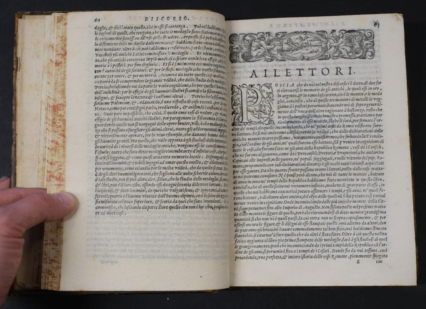 Erizzo (Sebastiano). Discorso sopra le medaglie, 4th edition, 1584, ex libris Fletcher of Saltoun - Image 8 of 11