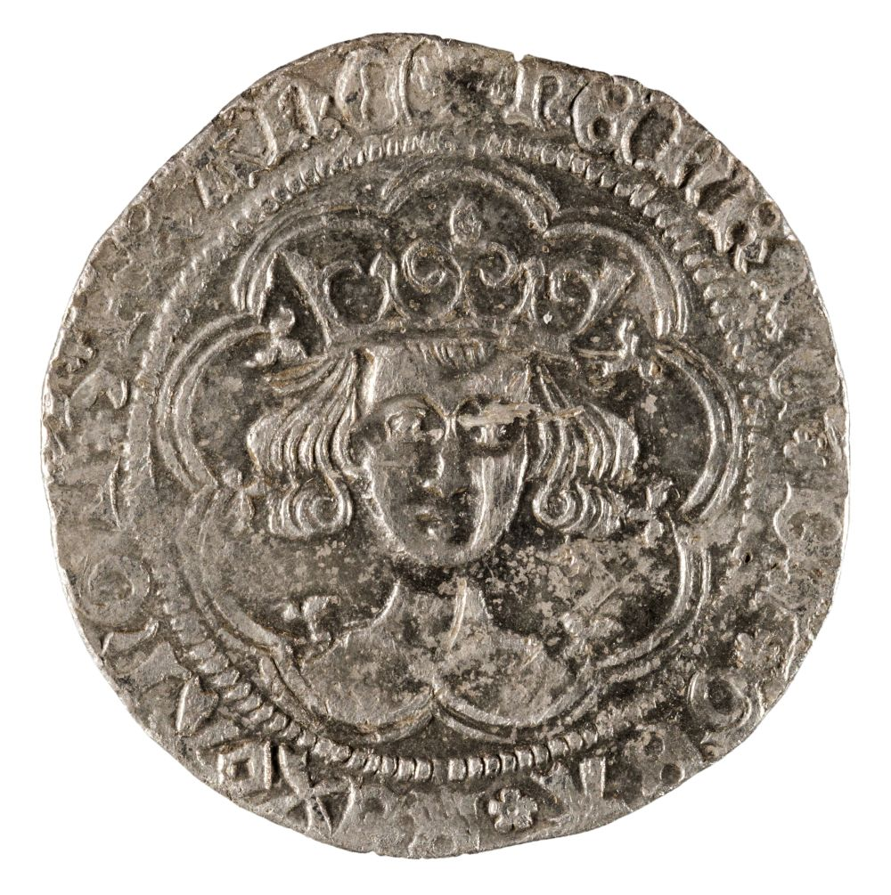 * Coin. Great Britain. Henry VI, Groat