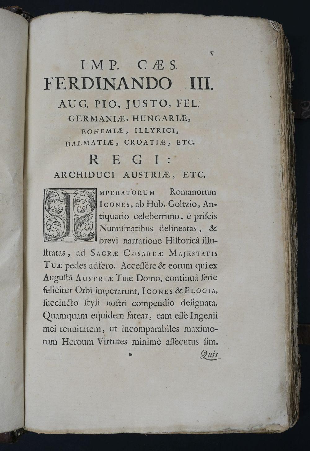Goltzius (Hubert). Icones Imperatorum Romanorum, 1708 - Image 6 of 13