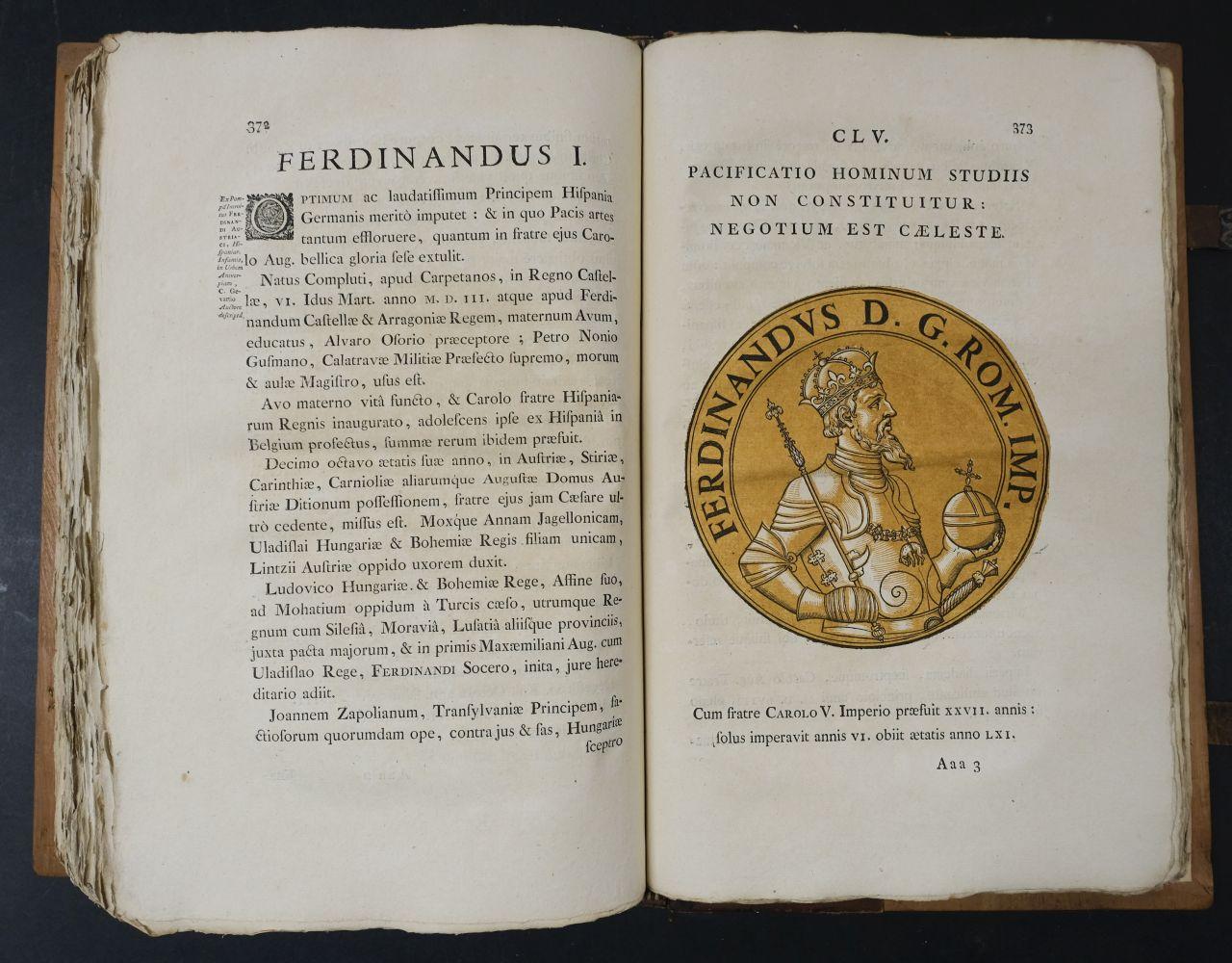 Goltzius (Hubert). Icones Imperatorum Romanorum, 1708 - Image 12 of 13