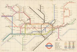 London. A mixed collection of 25 maps, plans and views, 18th - 20th century