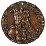 * Medal. Henry IV (1589-1610). Cast bronze medal, by Philippe Danfrie II