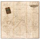 Shropshire. Baugh (Robert), Large scale map of Shropshire, 1808