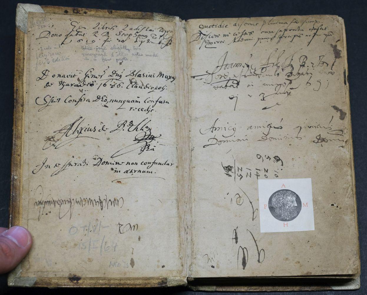 Sambucus (Joannes). Emblemata, Antwerp: Christopher Plantin, 1564 - Image 6 of 11