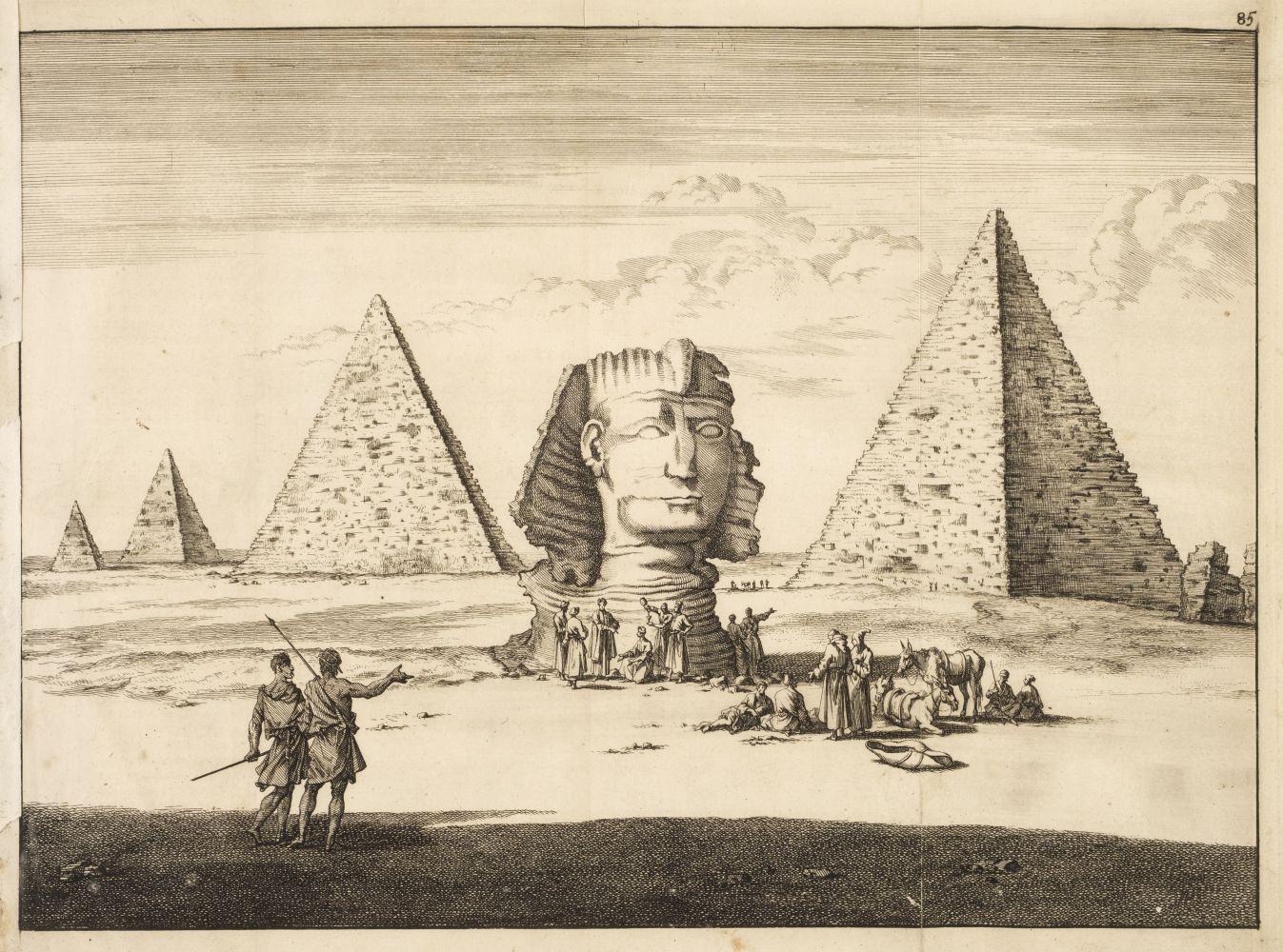 * Bruyn (Cornelis de). 43 plates from Reizen van Cornelis de bruyn, 1698