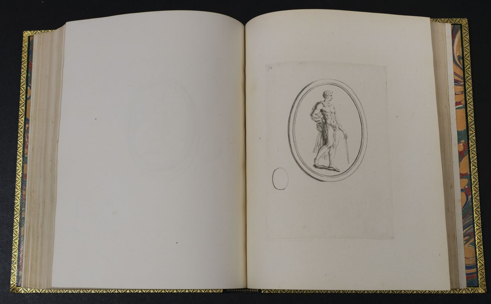 Devonshire Gems. Duke of Devonshire's Collection of Gems, privately printed, circa 1790 - Image 15 of 16