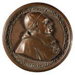 * Papal Medal. Vincenzo Maria Orsini (1649-1730), AE Medal