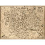* Yorkshire. Speed (John), York Shire. J. Sudbury & G. Humble circa 1627