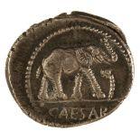 * Coin. Roman Empire. Julius Caesar, Denarius, c. 49-48 BC