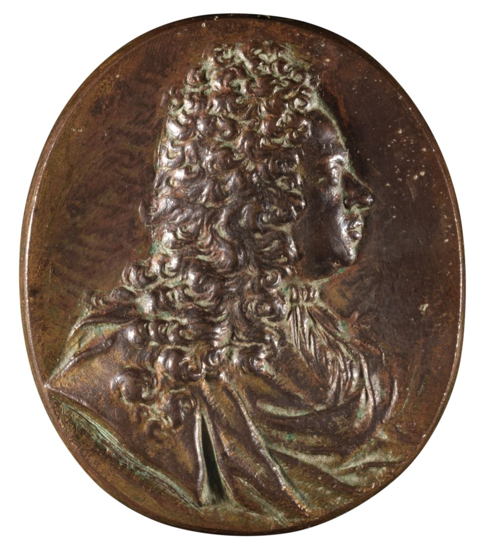 * Medal. Sir Andrew Fountaine (1676-1753) by Selvi