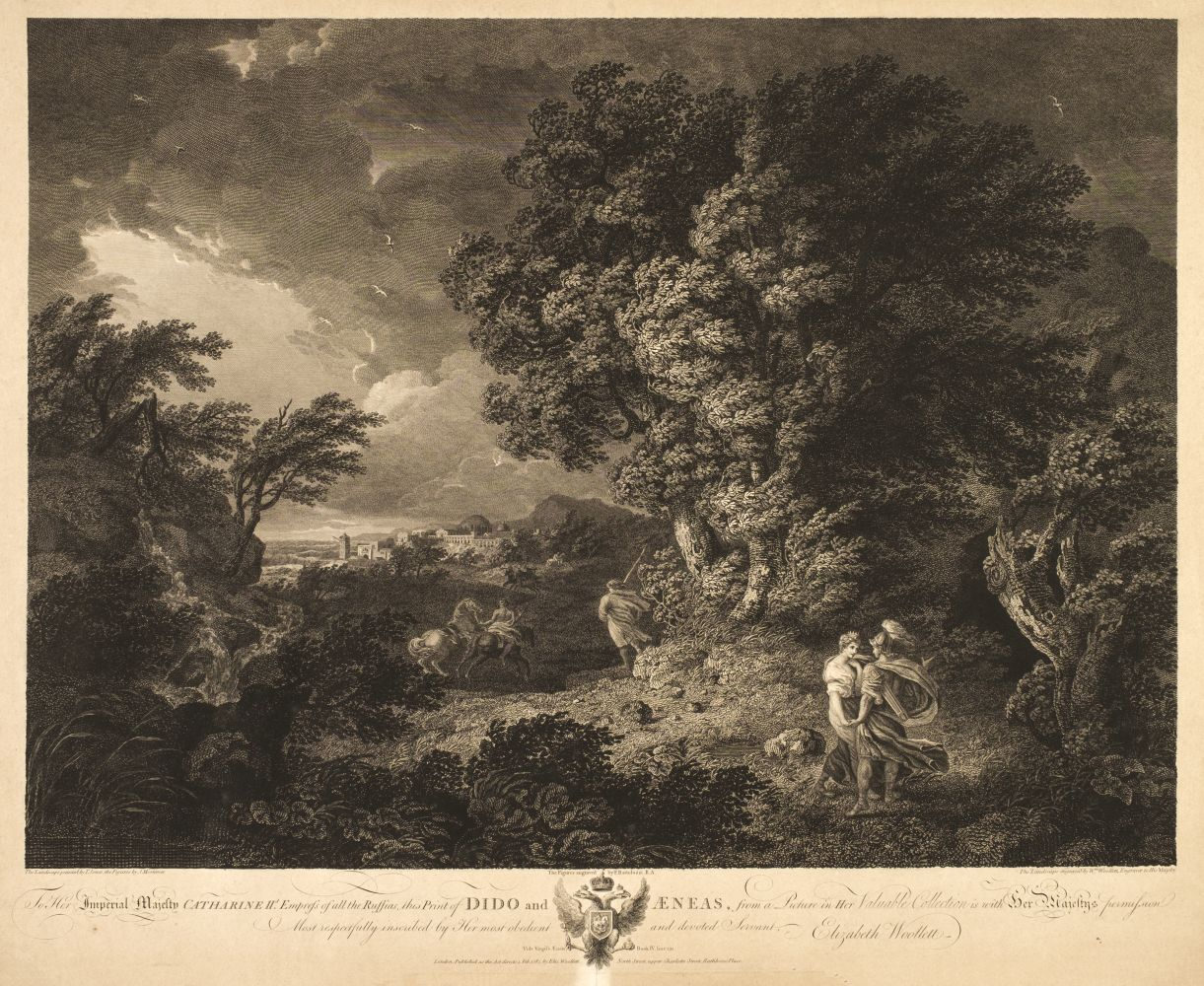 * Woollett (William & Bartolozzi F.). Dido and Aeneas, 1787