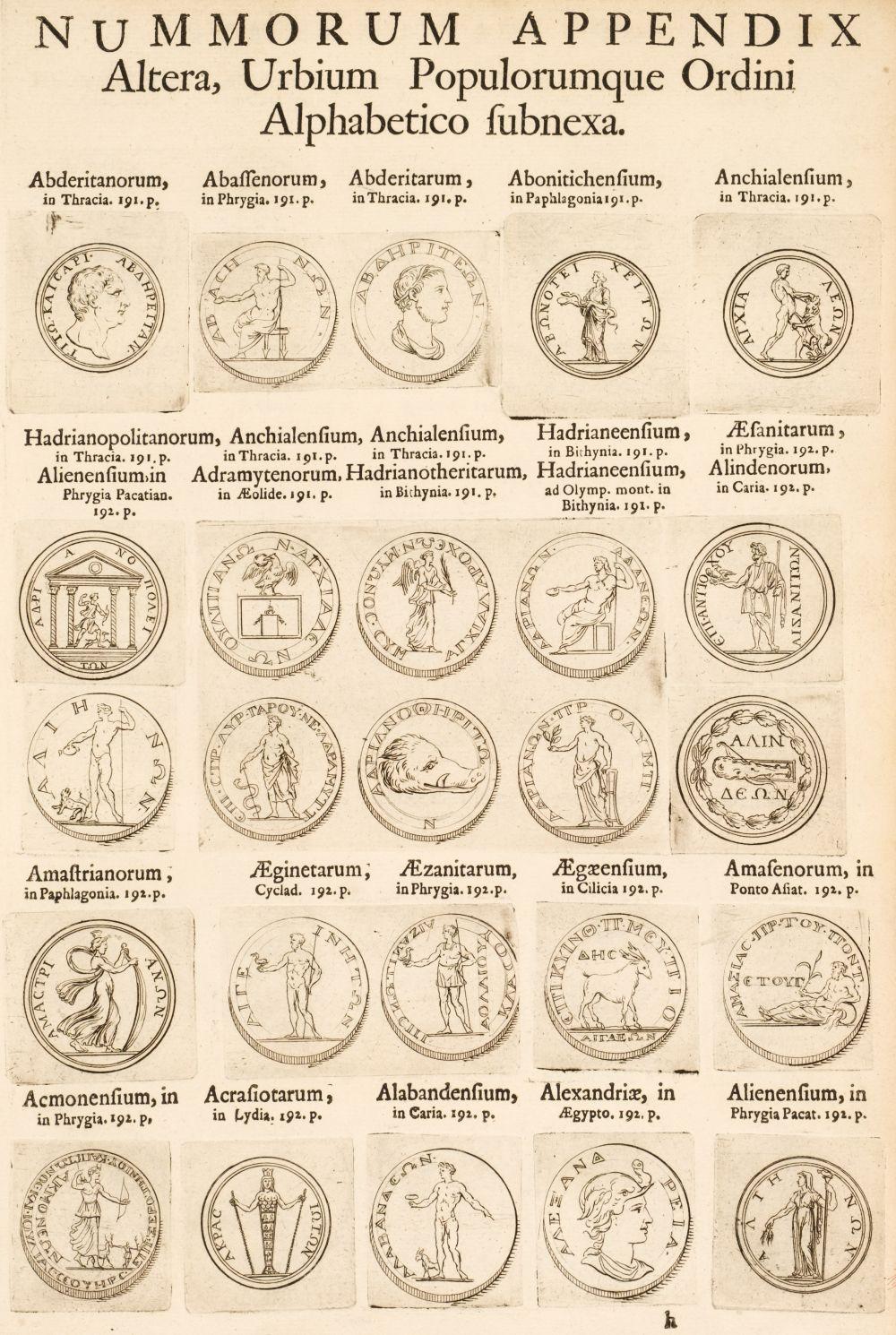 Foy-Vaillant (Jean). Numismata Imperatorum, 1700
