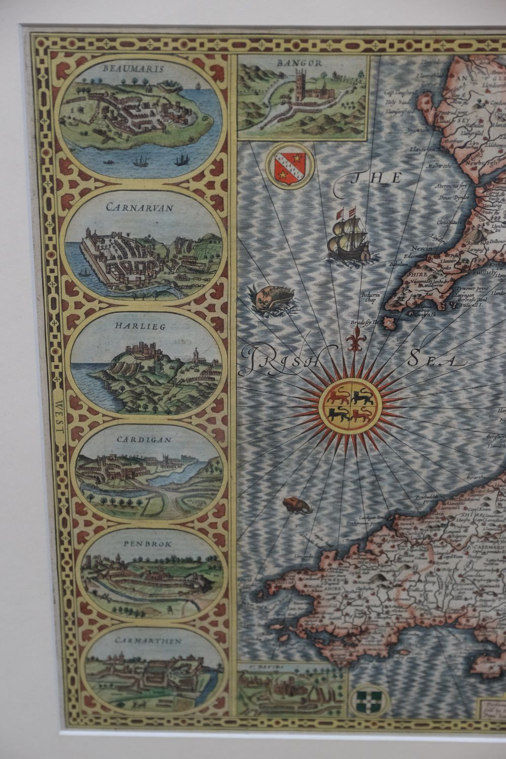 * Wales. Speed (John), Wales, John Sudbury & George Humble, 1616 - Image 3 of 5