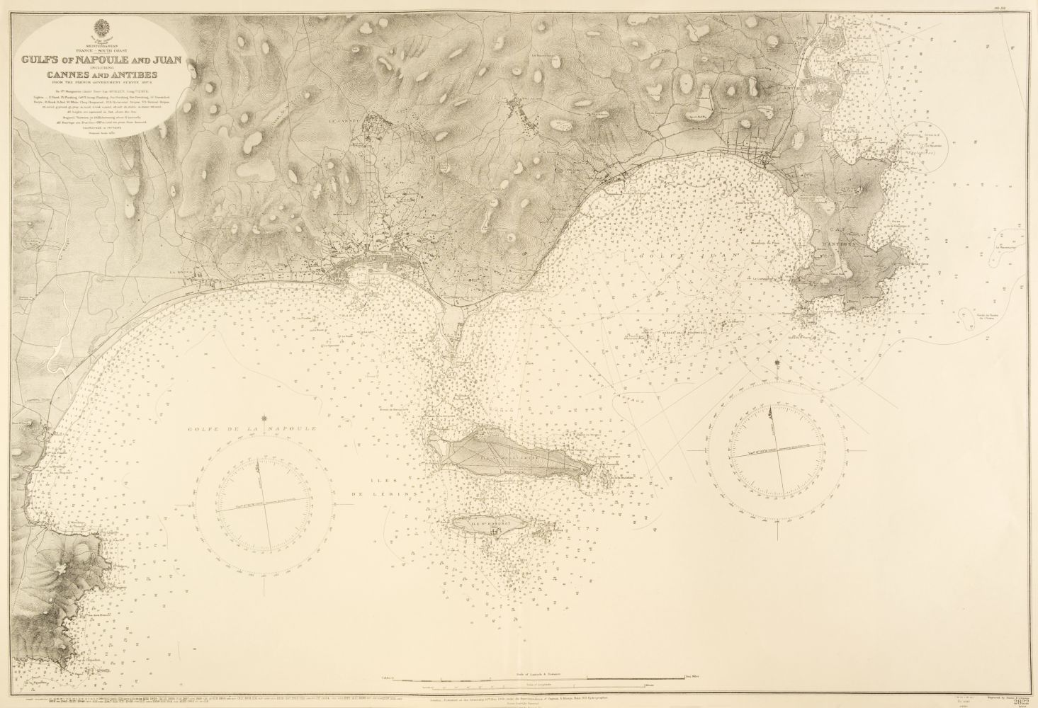 Sea Charts. A collection of approximately 75 charts of Northern Europe, mid-late 20th century