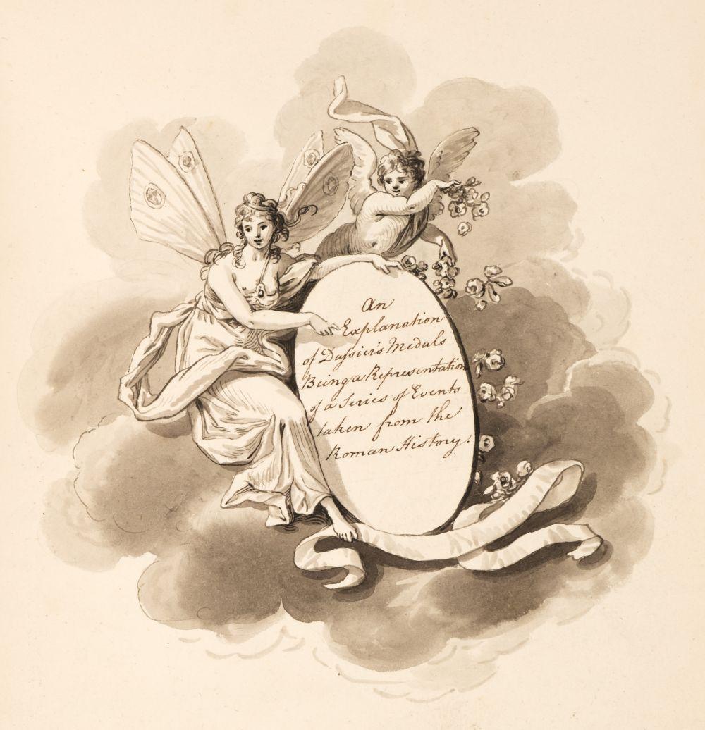 Manuscript. An Explanation of Dassier's Medals, by Charlotte Hanbury, circa 1795-1800