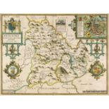 * Wales. Speed (John), Breknoke both Shyre and Town described, circa 1627