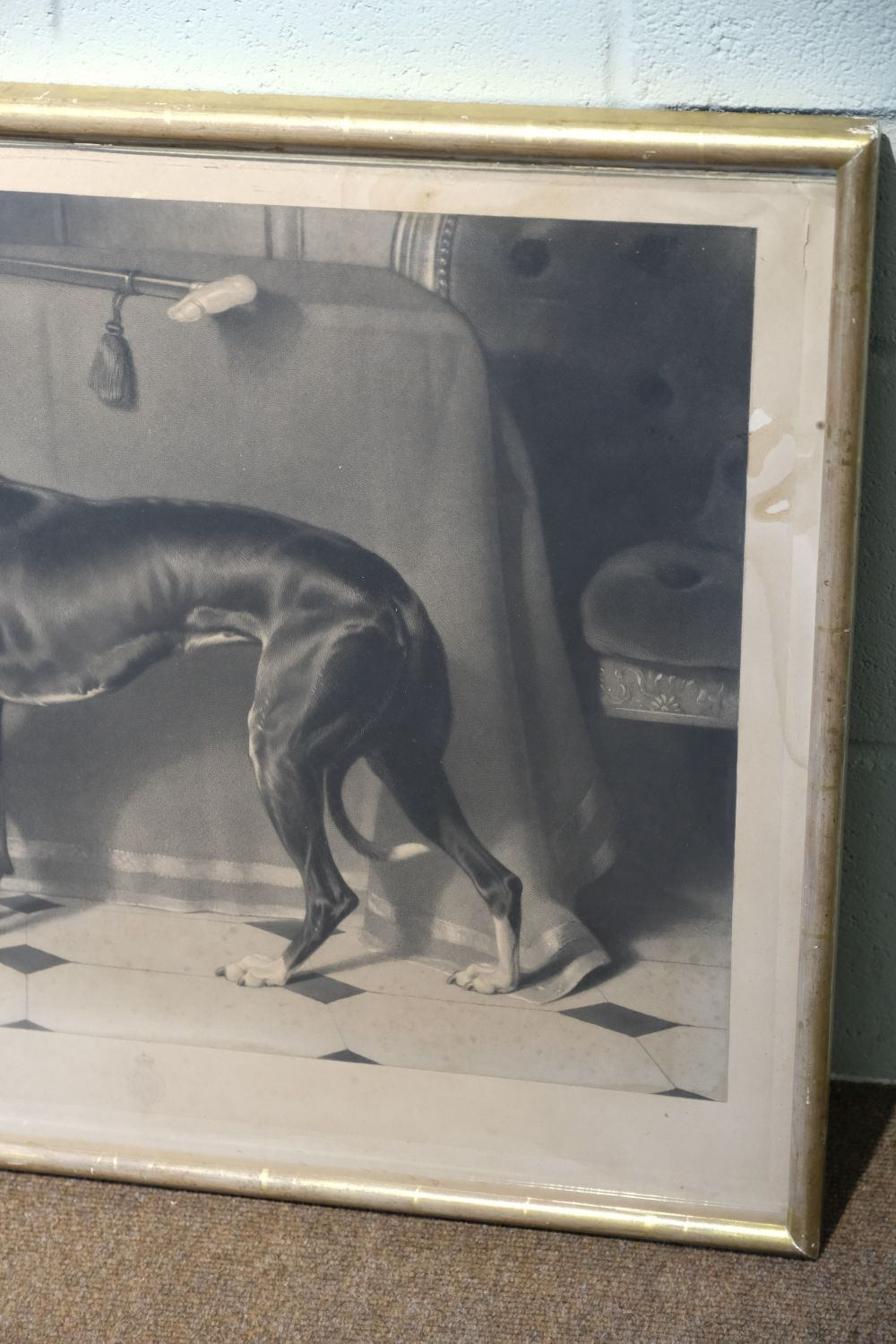* Landseer (Thomas). Eos. A Favourite Greyhound, The Property of H. R. H. Prince Albert, 1843 - Image 4 of 5