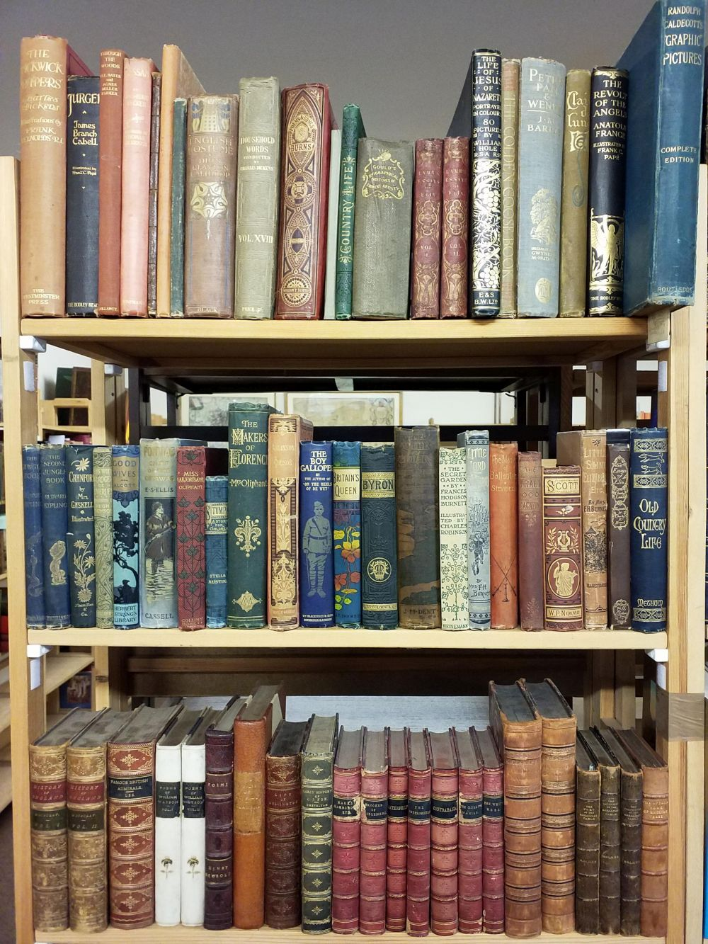 Literature. A large collection of late 19th & early 20th century & modern illustrated literature &