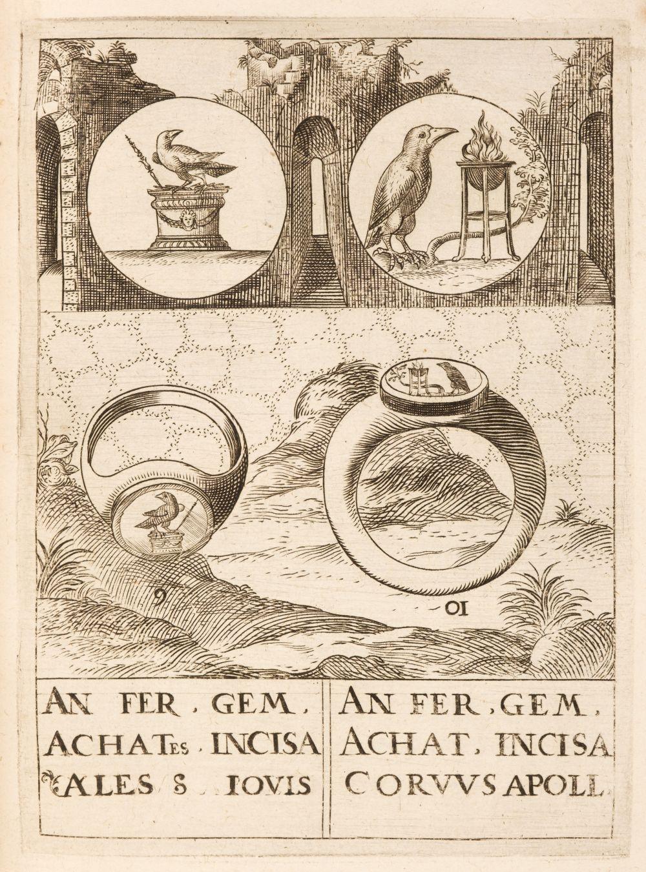 Gorlaeus (Abraham). Dactyliotheca, 1601