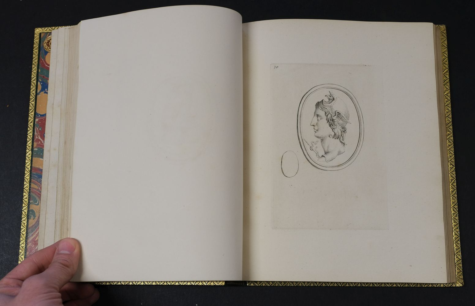 Devonshire Gems. Duke of Devonshire's Collection of Gems, privately printed, circa 1790 - Image 13 of 16