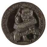 * Medal. Vincenzo Gonzaga (1626-27). AE Cast Medal