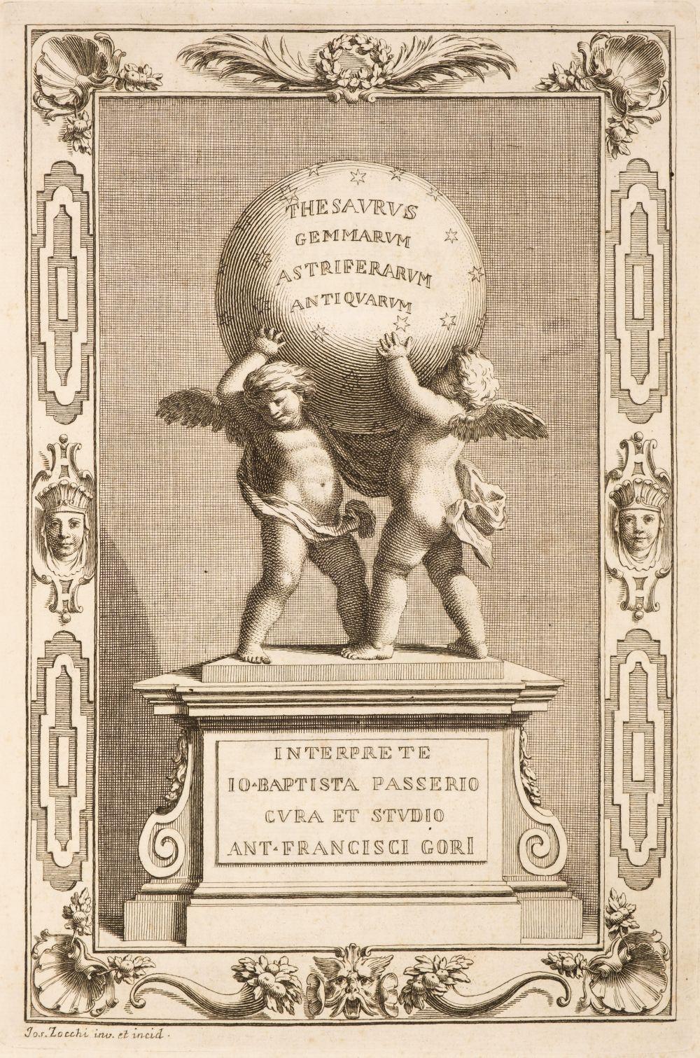 Gori (Antonio Francesco). Thesaurus Gemmarum Antiquarum...