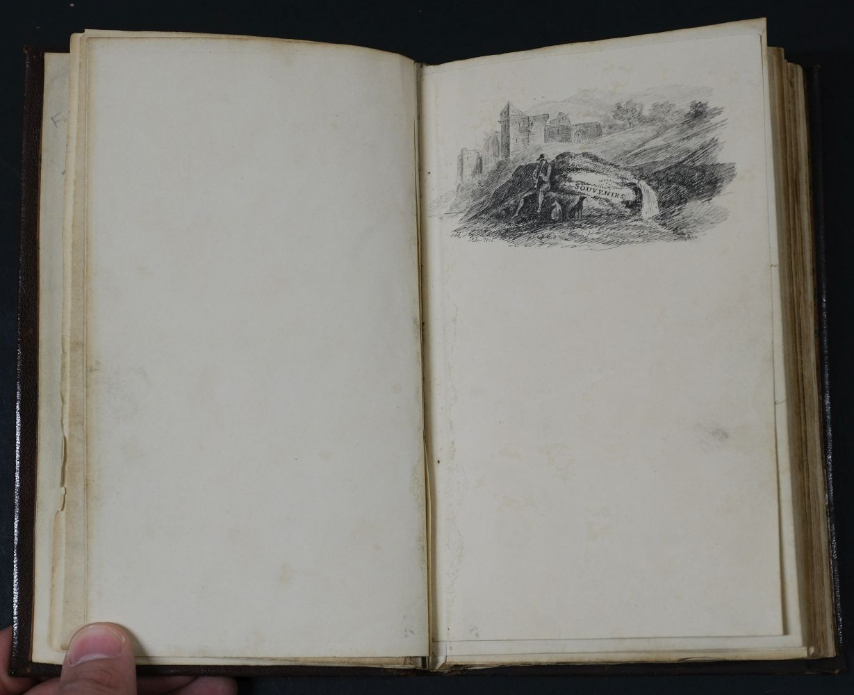 Albums. A pair of early 19th century albums, and one other - Image 3 of 15