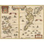 Orkney Islands. Jansson (Jan), Orcadum et Schetlandiae Insularum..., circa 1640