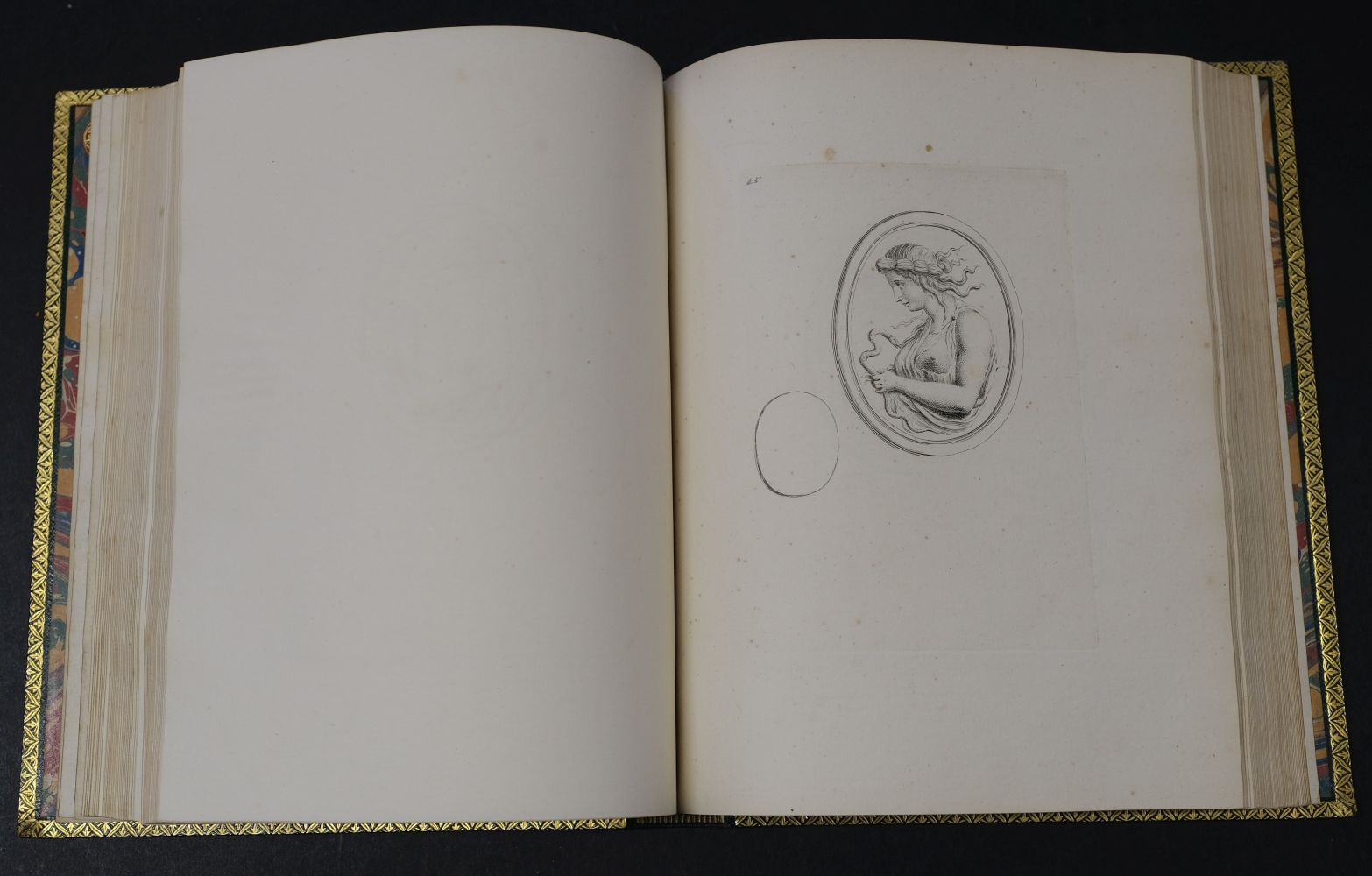 Devonshire Gems. Duke of Devonshire's Collection of Gems, privately printed, circa 1790 - Image 14 of 16