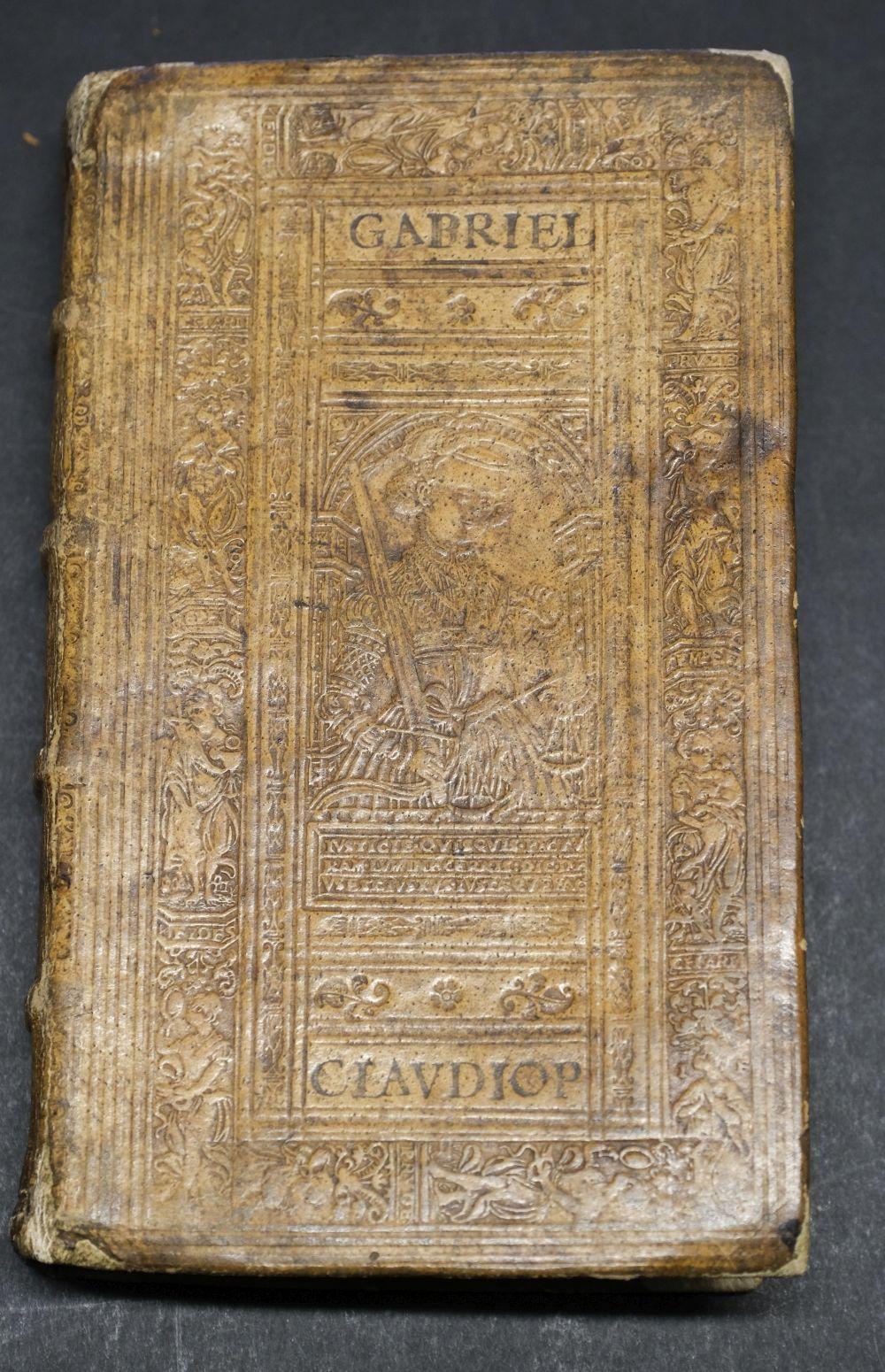 Sambucus (Joannes). Emblemata, Antwerp: Christopher Plantin, 1564 - Image 3 of 11