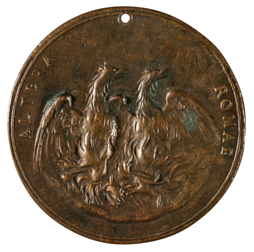 * Medal. Virginio Cesarini (1595-1624) and Giovanni Pico Della Mirandola (1463-94), circa 17th - Image 2 of 2