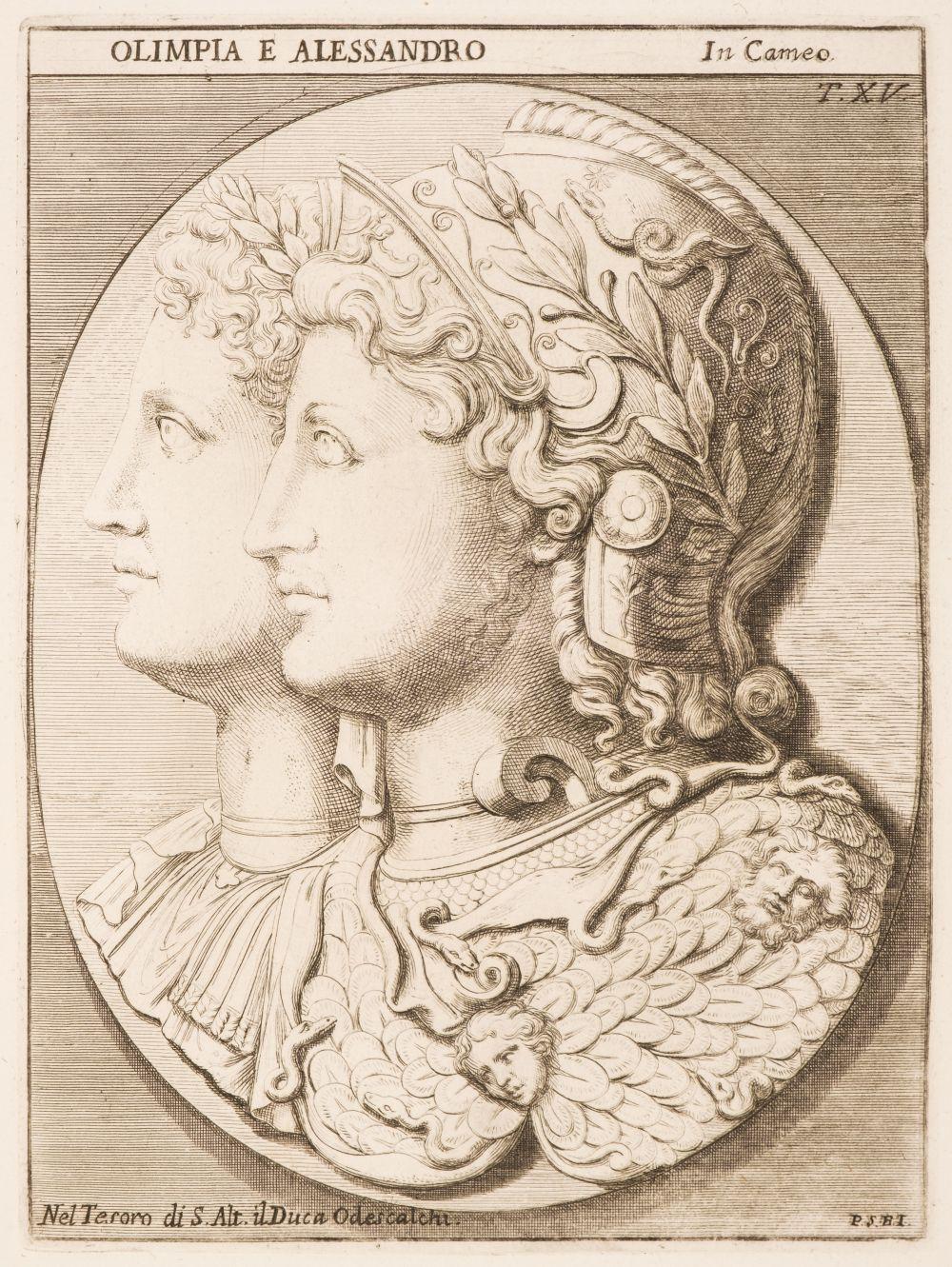 Bartoli (Pietro Santi). Museum Odescalchum, 2 vols in 1, 1751-52