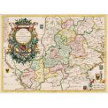 Silesia. Coronelli (Vicenzo M.), Silesia Inferiore..., 1694