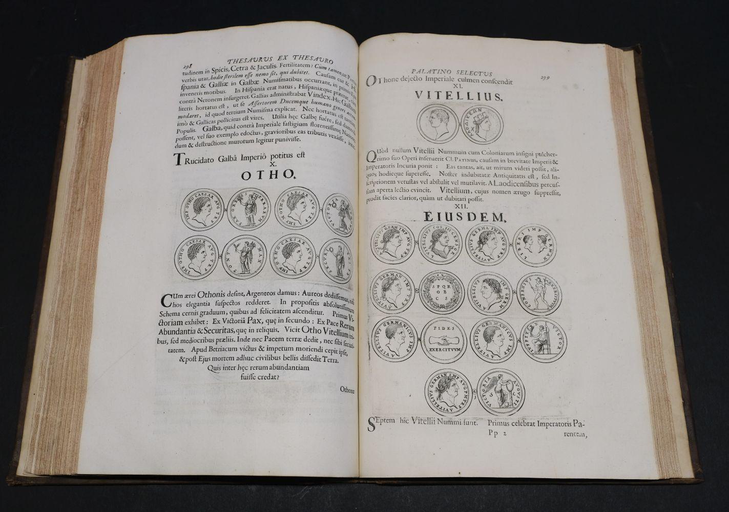 Beger (Lorenzo). Thesaurus ex Thesauro Palatino Selectus, 1685 - Image 8 of 9